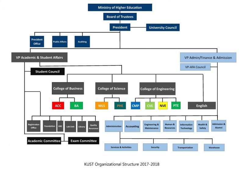 Organizational Chart (without Names)