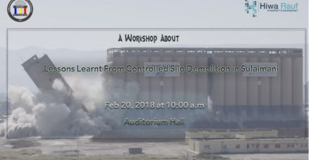 Controlled Silo Demolition