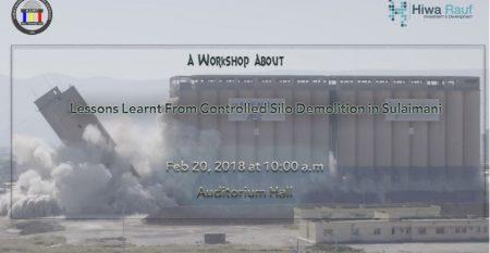 Controlled Silo Demolition