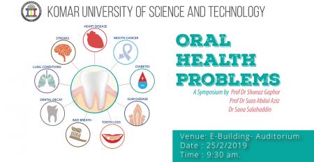 Oral-Health-Problems-symposium-at-Komar-University