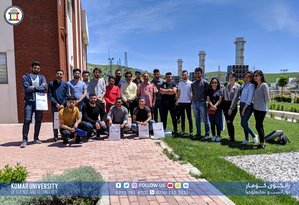 College of Engineering Excursion to Bazian Power Plant