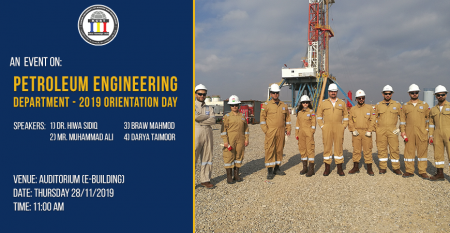 Petroleum-Engineering-Orientation-2019-Event