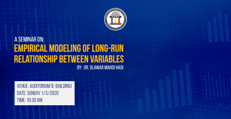 Empirical Modeling of Long-run Seminar