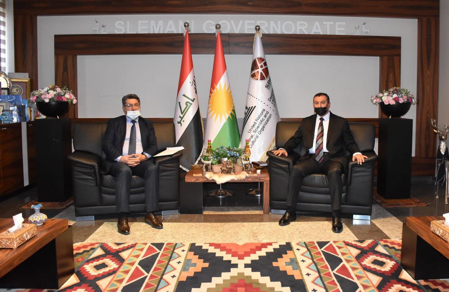 KUST President visited Sulaimaniyah governorate