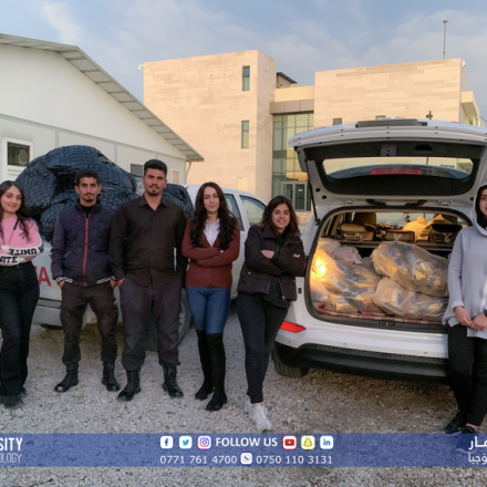 A group of students from KUST had organized a charity project